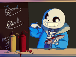Undertale: Sans by Kiwa007