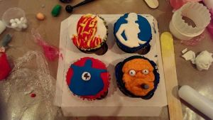 F4 Cupcakes by V1EWT1FUL