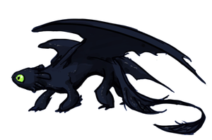 toothless by ormery