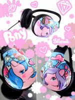Pony headphones by Bobsmade
