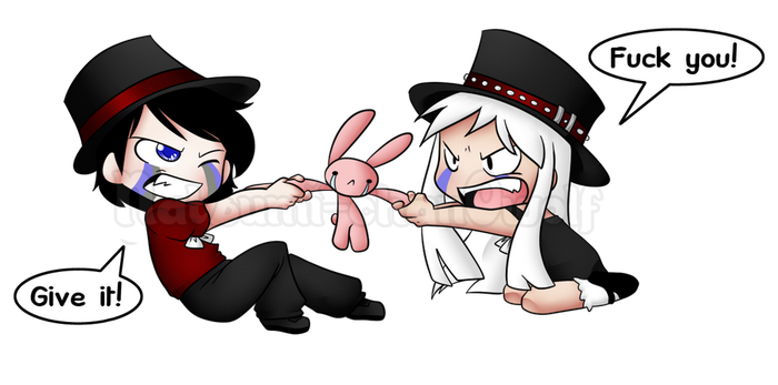 Com: Give me that BUNNY by Natsumi-chan0wolf