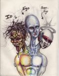 id ego superego by surreal32