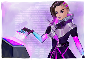 Sombra commission by AntheiaVaulor