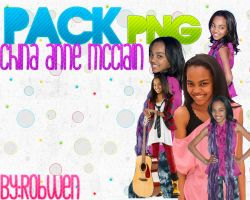 Pack de China Anne Mcclain by RobWen