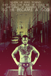 CM Punk- Became a God by al3-x
