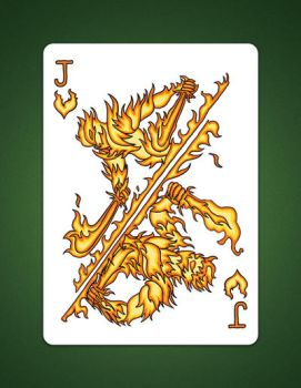 Jack of Hearts aka Jack Of fire by LineDetail