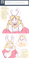 Tumblr Ask:Asgore's Beard by Toxic-Chuckle