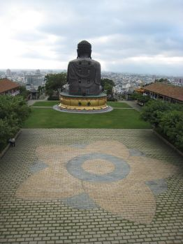Looking out over Ba Gua temple by moor-moor