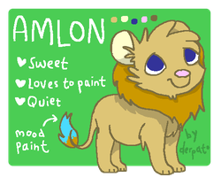 Amlon's Reference Sheet by derpato