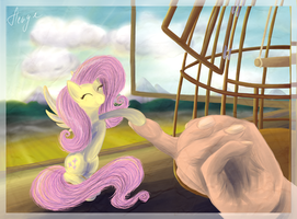 Goodbye, Fluttershy by HengeBellika