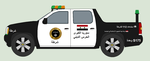 Greater Islamic State Police Pickup Truck by bar27262
