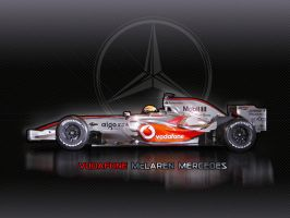 McLaren Mercedes mp4-23 by tmr5555