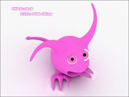 Lost little pink thing by vozzz
