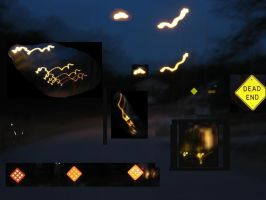 Night Light Collage by Recycle-Or-Die