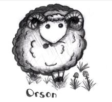 Orson the Clover-Eating Sheep by SeekingElegance