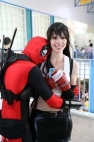 Suddenly, a wild Deadpool appeared! by CrystalPanda