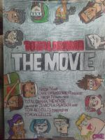 Total Drama: The Movie Promotional Poster by KawaiiWonder