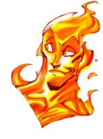 Human Torch by Sanchez by Mythical-Mommy