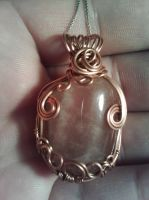 rose quartz pendant by PK-Photo