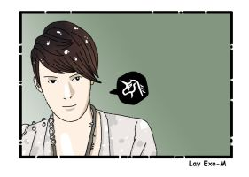 Exo-M Lay by ILICarrieDoll