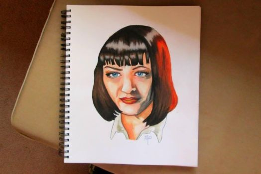Mia Wallace by cyanogenic7