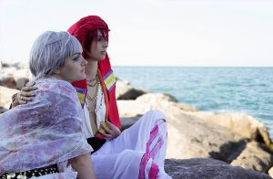 FREE!Cosplay - The king and me by MarmeladePro