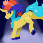 Hello, Keldeo! by deisenpai