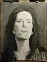 Charcoal Portrait by hcollazo2000
