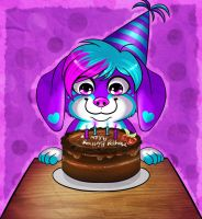 Happy Birthday Alex! (Sparkle Version) by AlexDachshund
