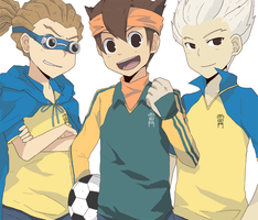 Inazuma: The Aces by seiryuuden