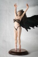 The Raven, ooak polymer clay sculpture by incantostudios