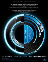 Daft Punk Tron: Legacy soundtrack for Oscar by bassgeisha