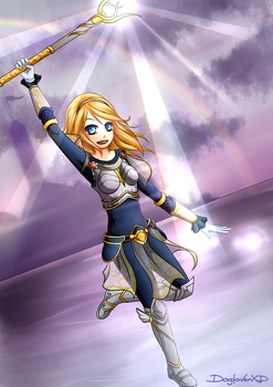Lux, the Lady of Luminosity by DogloverXD