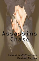 Assassins Chase Book Cover by CartoonMad97