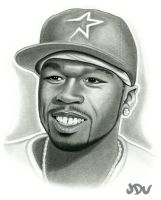 50 CENt pencil by JDU1