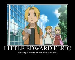Little Edward Elric by ikilledahollow4