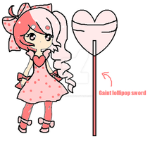 lollipop girl adopt-CLOSED by Chibii-chii