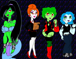 Commission: Future DP Ghost Girl Designs by PurfectPrincessGirl