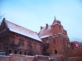 Torun in snow 10 by xxtasiaxx