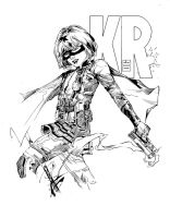 Hit Girl Inks by devgear
