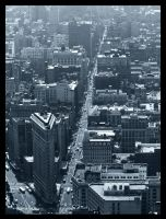 Streets of New York. by Bleezer