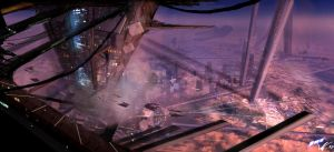 W.D. My Work - Cityscape 02 by SolarSouth