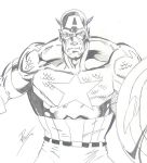 captain america redone by Nomad55