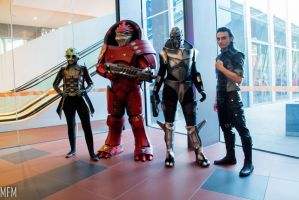 Mass Effect group by MFM-Photography