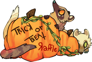 TrickORTreat raffle- WINNERS by Simonetry