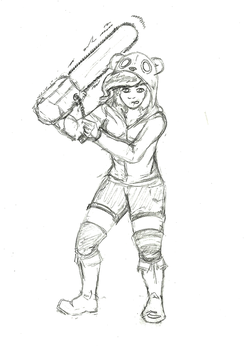 Chainsaw Maniac request by SaphireFLames