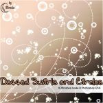 Dotted Swirls and Circles by Coby17