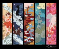 bookmarks by PhoenixAnna