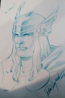 Thor Expocomic Madrid sketch by elena-casagrande