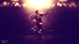 David Villa WP  feat Djvus by BerkayGraphic